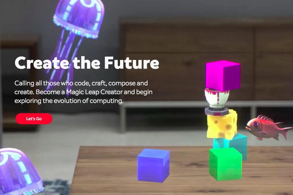 Magic Leap向开发者展示AR眼镜开发者门户和SDK