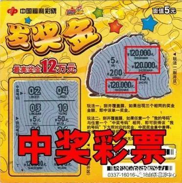 彩票新手25元刮中12万 销售员不敢信(图)