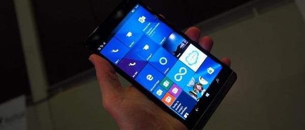 微软将携手惠普在2017年推出一款消费级Windows 10智能机的照片