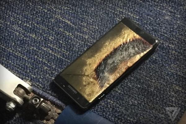 三星将与CPSC 合作调查Galaxy Note 7安全机爆炸事故的照片 - 1