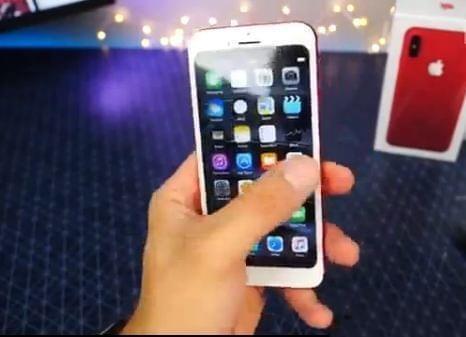 华强北抢先开箱iPhone 8苹果都惊了!