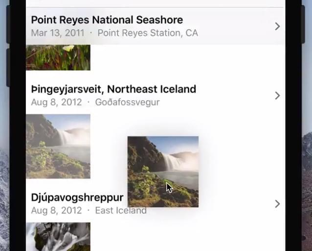 稍作调整 iOS 11也支持iPhone进行文件拖拽