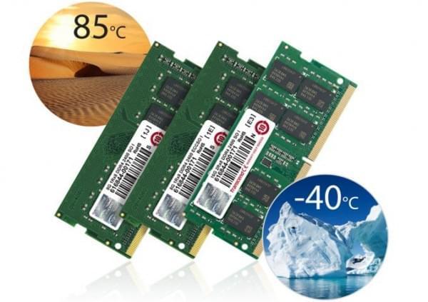 创见发布工业级DDR4 SO-DIMM内存:可耐超高超低温的照片 - 1