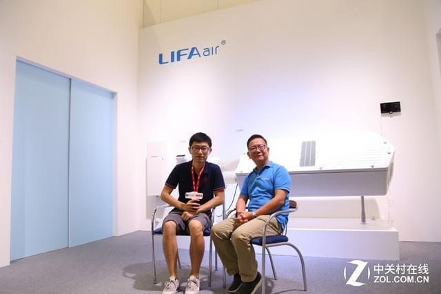 专访LIFAair沈昌棠:中国市场对我们很重要
