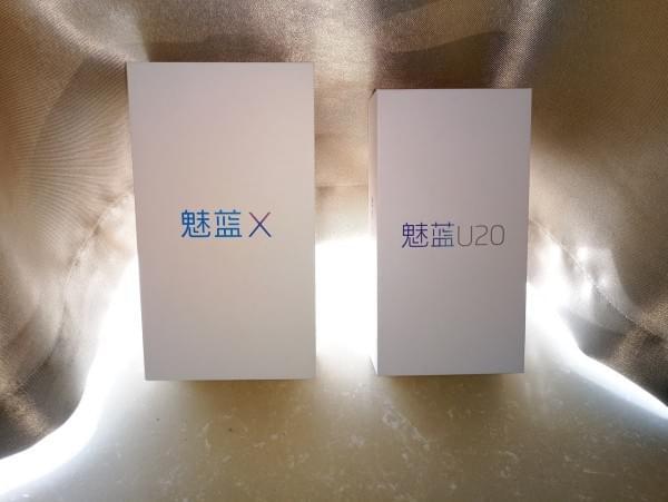 流光背影+首发P20:魅蓝X 开箱、跑分、快充、屏幕测试的照片 - 3