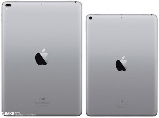 2017款12.9英寸iPad Pro保护套曝光:带双摄像头