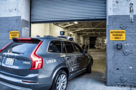 无人驾驶,Uber无人车,Uber自动驾驶测试