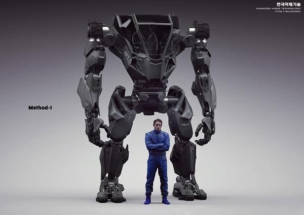 Hankook Mirae展示四米高的Method-2载人两足机器人的照片 - 11