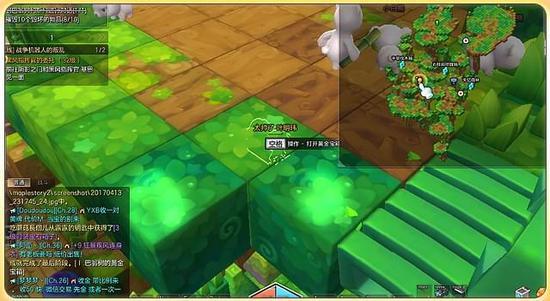 夺宝奇兵 冒险岛2各个区域的黄金宝箱怎么开