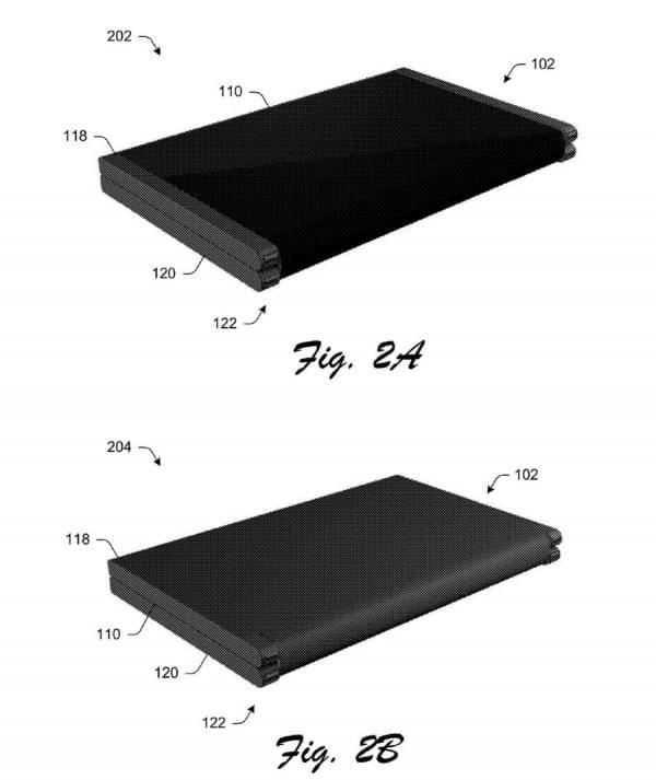 可折叠Surface手机?微软专利显示手机可变成平板电脑的照片 - 2