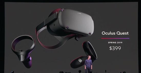 Facebook最新VR头盔将于明年春季上市 售价399美元