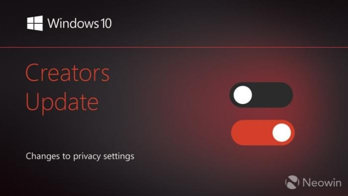 Win10创意者更新隐私策略变动一览的照片 - 1