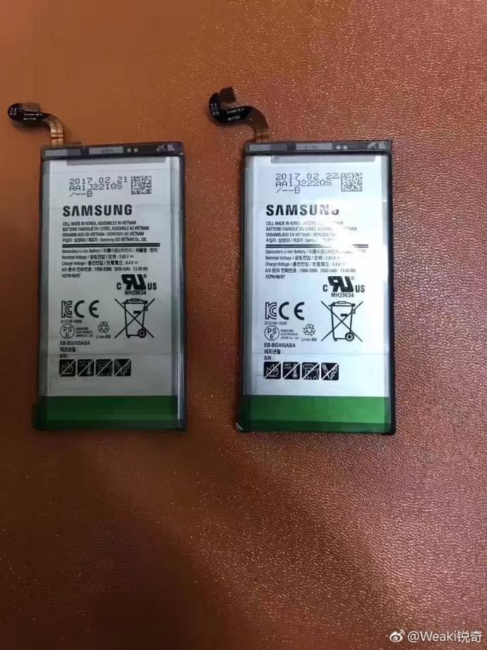 Galaxy S8+电池首曝:还是三星SDI出品的照片 - 2