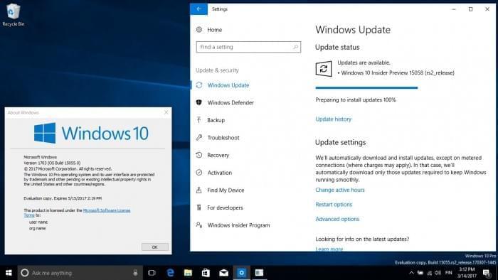 Windows 10 Build 15058发布:再次取消水印和过期时间的照片 - 2