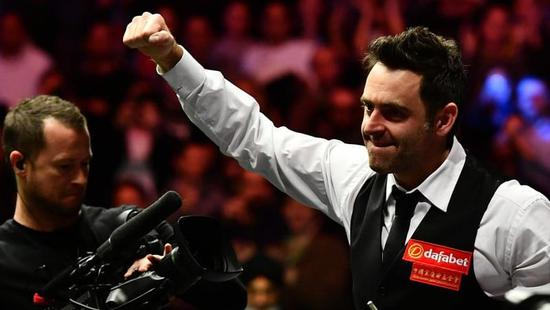 O'Sullivan made the quick-fire clearance at an exhibition in Lincoln