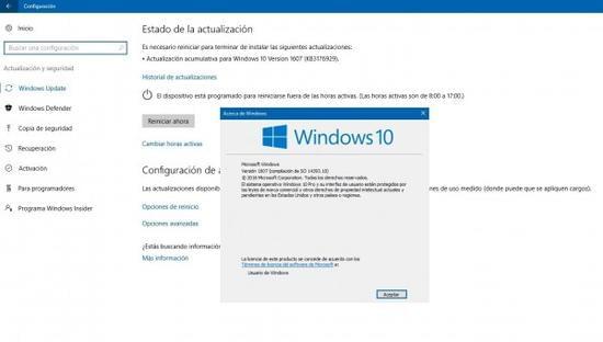 累积更新KB3176929发布:Windows 10版本升至14393.10的照片 - 2