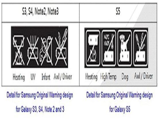 """讨厌?三星S8电池为啥有""""远离狗狗""""标志"""