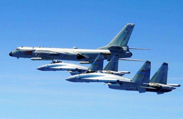 外媒称轰-6K扩大海上作战区域:展示打击美军能力