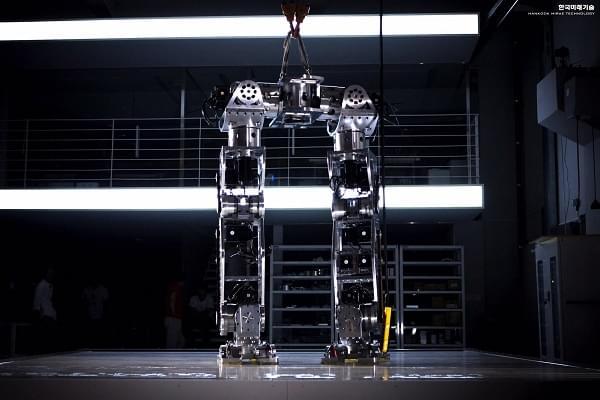 Hankook Mirae展示四米高的Method-2载人两足机器人的照片 - 6