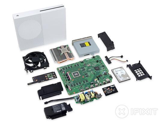 Xbox One S拆解:易于维修的照片 - 45