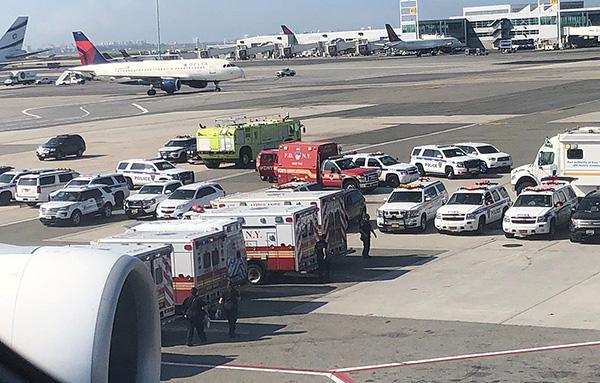 阿航飞机隔离或因流感引起 乘客:起飞前有人不停咳