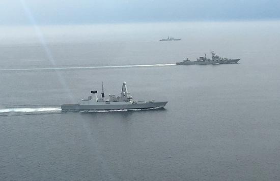 美军称重启第二舰队是中俄逼的 两国海军太活跃