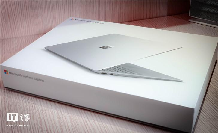 网友开箱Surface Laptop 2国行:相同,大不同