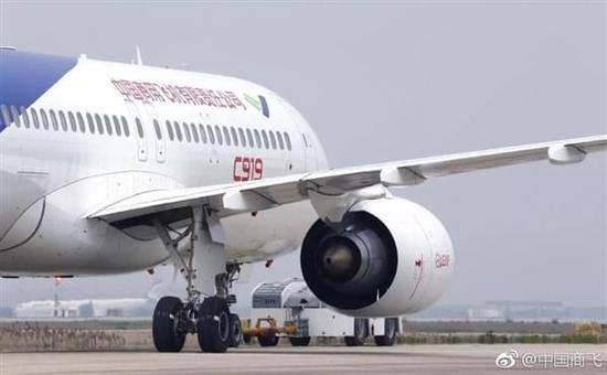 是中国首款按照最新国际适航标准研制的干线民用飞机