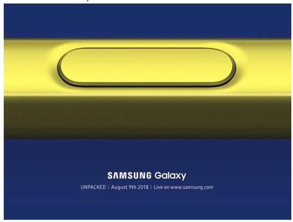 三星正式宣布!Galaxy Note 9将在8月9日纽约发布