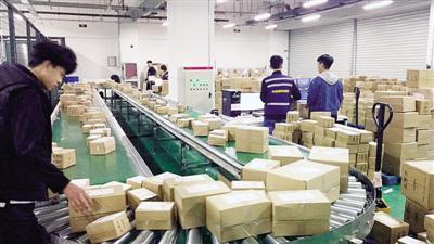 去年郑州综保区跨境电商 出口量突破千万单