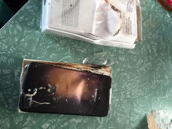 曝iPhone 7 Plus爆炸真相:缘起运输过程中受到的外力撞击的照片 - 1