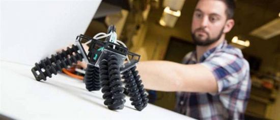 世界首个软体机器人面世!可驾驭复杂地形 体态萌翻