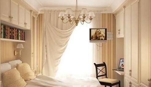 卧室设计,小户型卧室,北欧田园风格
