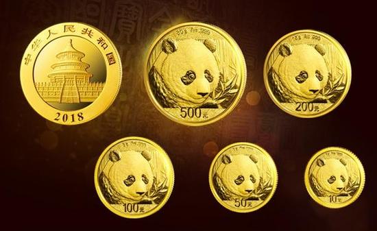 """大熊猫""""进场"""" 熊猫金币能上海黄金交易所买卖了"""