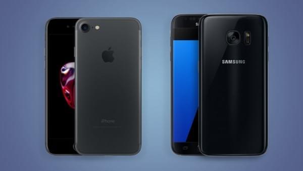 iPhone 7和Galaxy S7规格参数对比的照片 - 1