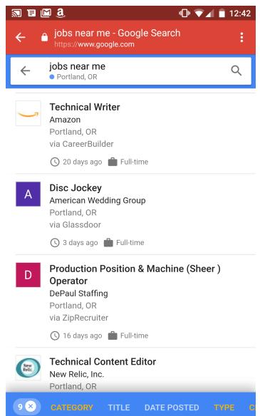 谷歌推全新求职搜索引擎:找工作这事也能交给AI