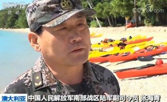南部战区陆军副司令员张海青