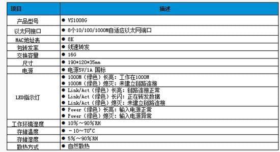 流畅稳定 飞鱼星VS1008G西安报价199元