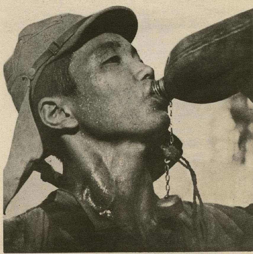 抗战时中国有多热?攻打湖北的日军因太热集体自杀
