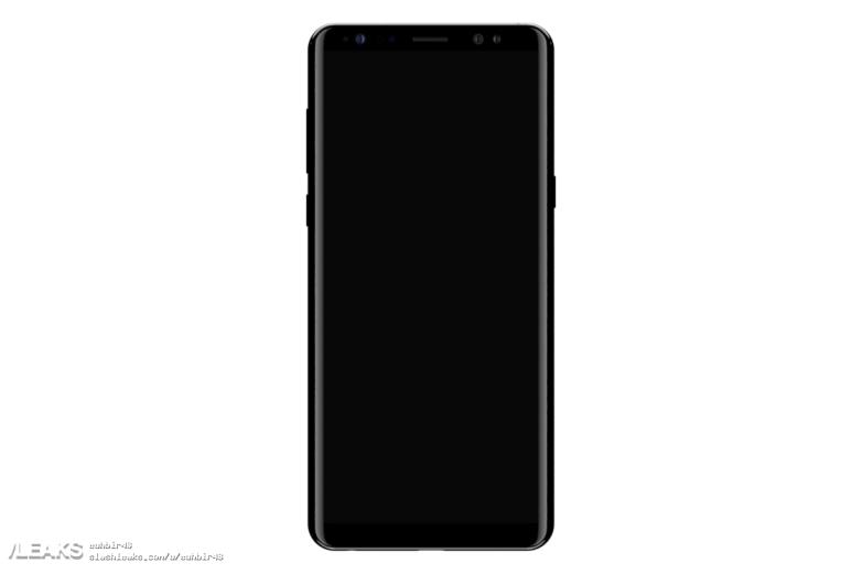 三星Galaxy Note 8諜照大泄 還是背面指紋識別