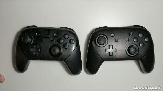 山寨任天堂Switch Pro手柄流入市场:教你如何区分