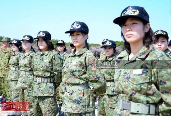 日本自衛隊挖空心思征召女性:曾計劃制作孕婦軍裝