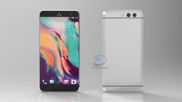 HTC无按钮Ocean渲染图曝光:双摄像头+USB-C端口的照片 - 1