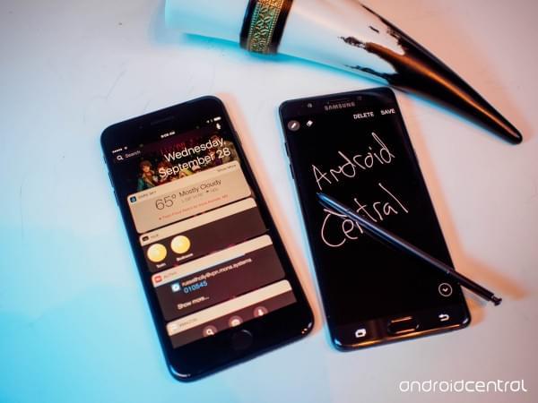 iPhone 7 Plus与三星Note 7对比评测:功能重于形式的照片 - 5