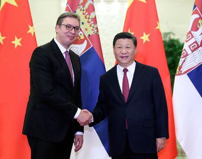 习近平分别会见来华出席夏季达沃斯的四国领导人