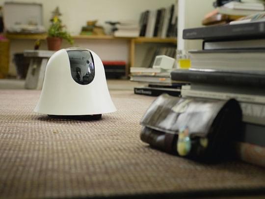 会走路的摄像头问世 可通过移动设备查看家中情景的照片 - 1