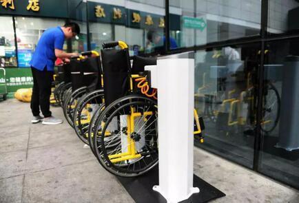 共享护士后共享轮椅也来了!已落地多家医院