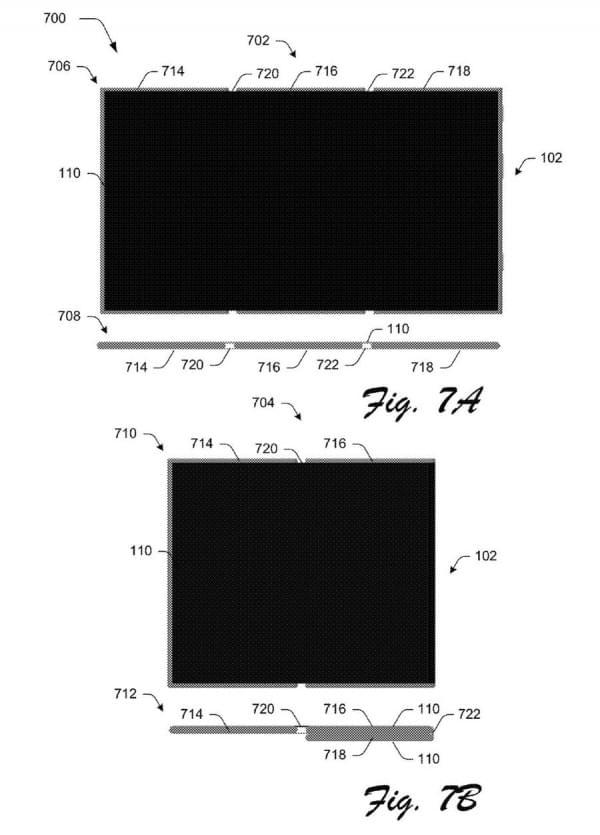 可折叠Surface手机?微软专利显示手机可变成平板电脑的照片 - 6