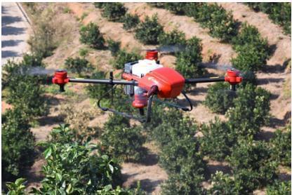 极飞无人机新增功能,全新航线专为果树植保