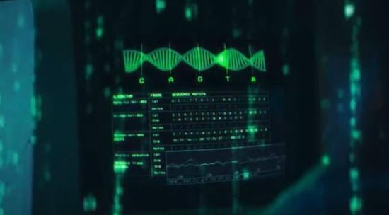 《Algorithm》的MV里看到了《黑客帝国》